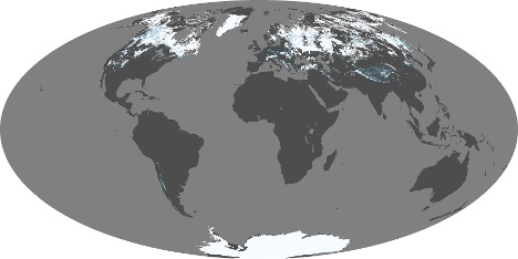 World wide daily snow and ice cover map snow gumiabroncs Choice Image