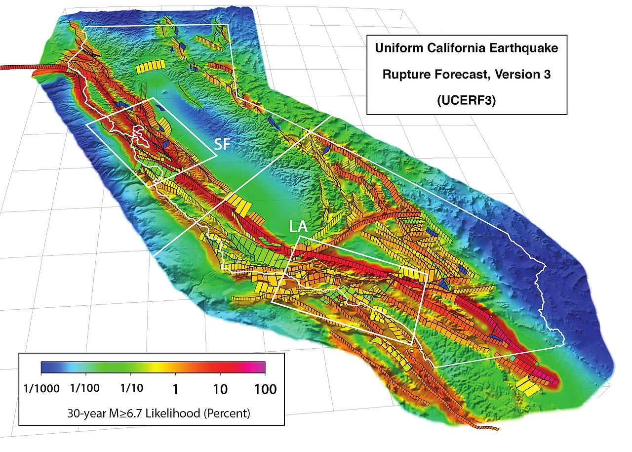 Uniform California Earthquake Rupture Forecast