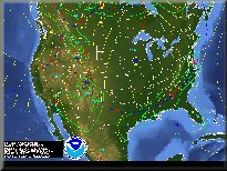 US Forecast Map