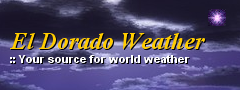 El Dorado Weather Logo